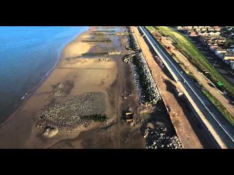 Rossall sea defences