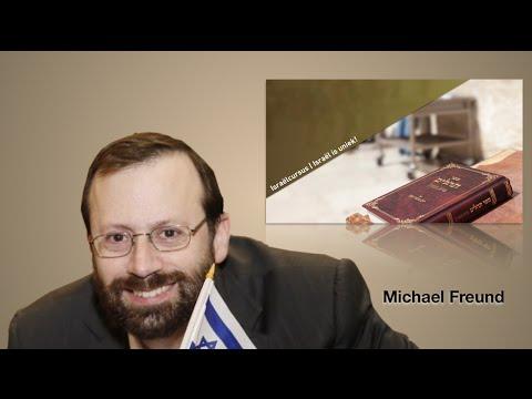"""#Israëlcursus met Michael Freund over: """"Waar zijn de verloren stammen gebleven?"""""""