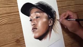 US Open champion Naomi Osaka drawing