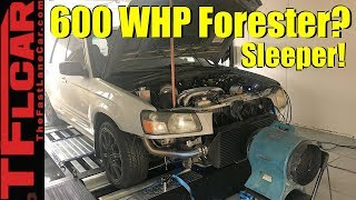 Live: Sleeper Subaru - Can This Forester Make 600+ WHP?