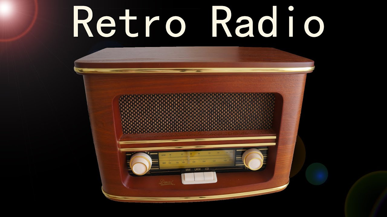 review retro radio nostalgieradio mit cd player dual nr. Black Bedroom Furniture Sets. Home Design Ideas