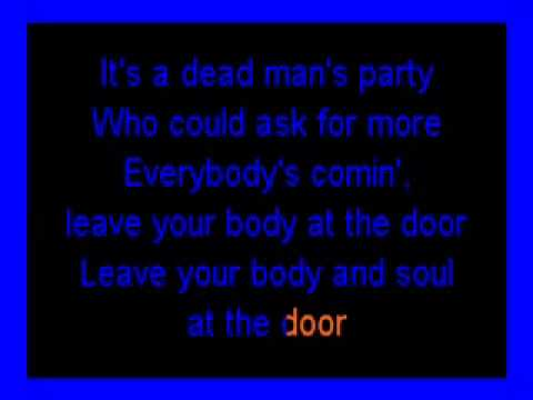 Dead Man's Party (Oingo Boingo) karaoke