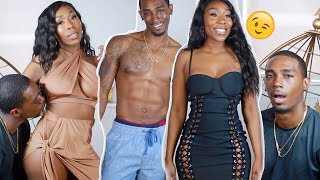 💍FIANCÉ AND I RATE EACH OTHER'S FASHION NOVA OUTFITS !!!