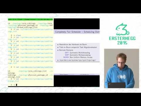Markus Pargmann: Linux Kernel CPU Scheduler 101