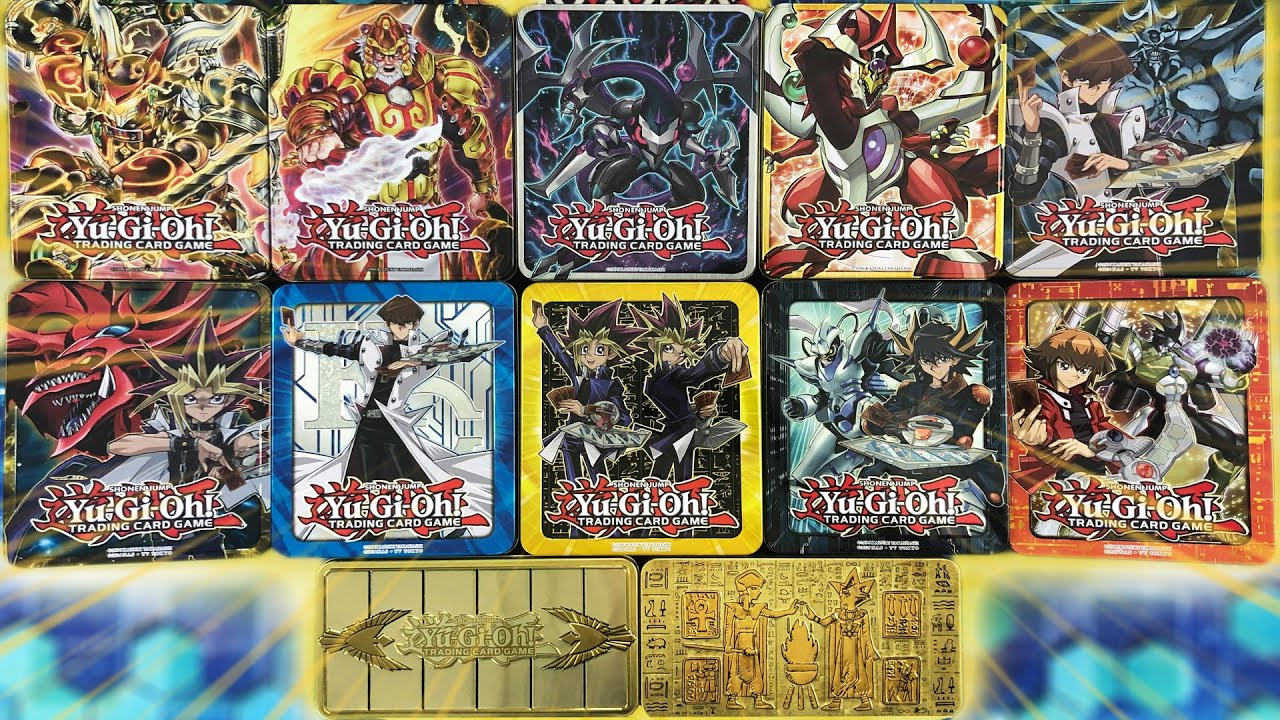 *OPENING ALL THE Yu-Gi-Oh! MEGA TINS EVER RELEASED!* Best Mega Pack Yugioh Card Pulls in History!