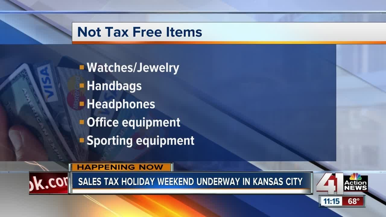 Tax holiday for back-to-school shoppers underway