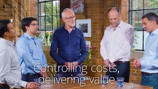 Controlling costs, delivering value