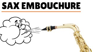 How To Blow Y๐ur Sax (Embouchure). Beginner Saxophone Lesson #3