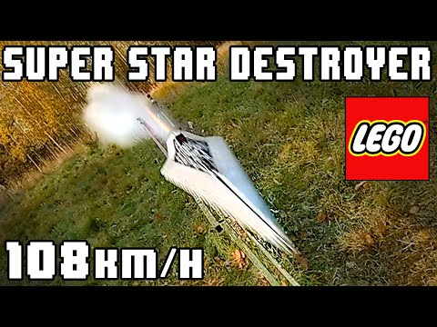 [ROCKET POWERED] LEGO Star Wars Super Star Destroyer! - (67 MPH)