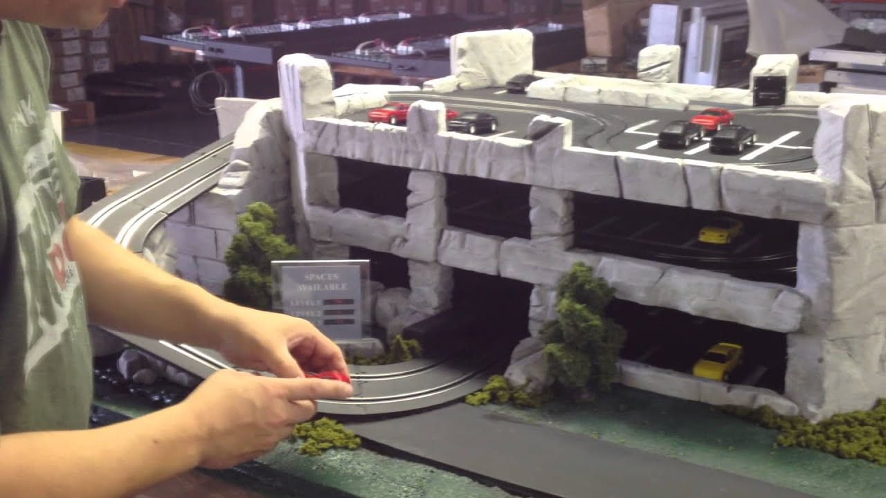 Out of the Box - Model Parking Garage - Click PLC - YouTube