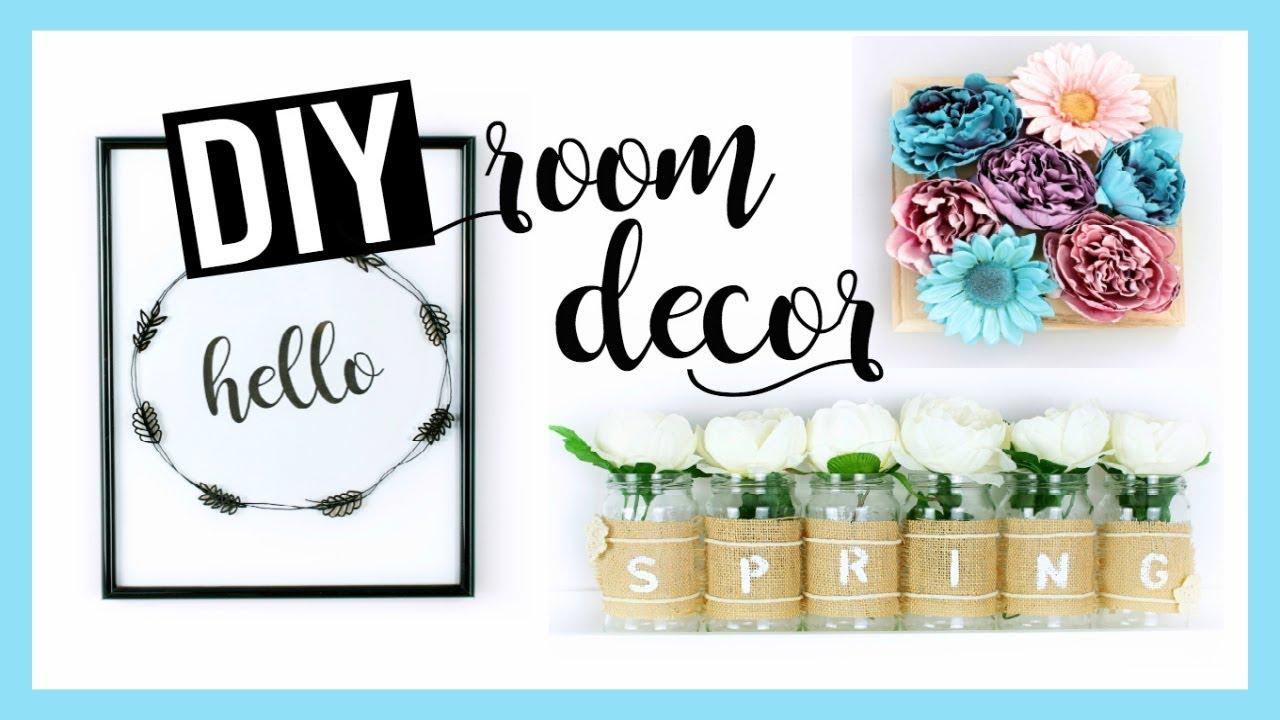 diy deco printemps facile pas chere spring room decor fran ais youtube. Black Bedroom Furniture Sets. Home Design Ideas