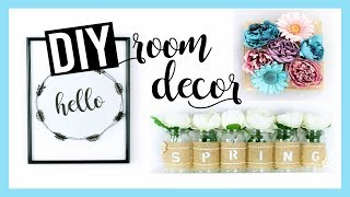 DIY DECO PRINTEMPS FACILE & PAS CHERE / SPRING ROOM DECOR (français)