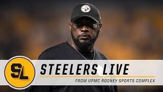 Injury Update, Tomlin Recap on Steelers Live | Pittsburgh Steelers