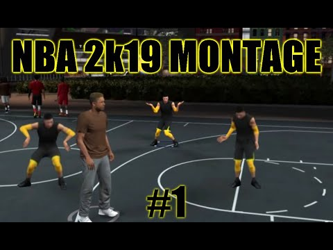 NBA 2K219 MONTAGE - CRAZY DUNKS AND ANKLES - All the way up instrumental
