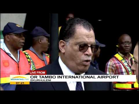 It is wonderful to welcome the African champions: Danny Jordaan