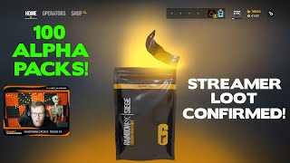 Opening 100 Alpha Packs, But I Actually Get Good Loot