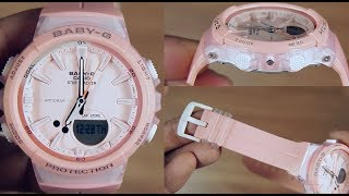 CASIO BABY-G STEP TRACKER BGS-100-4A - UNBOXING