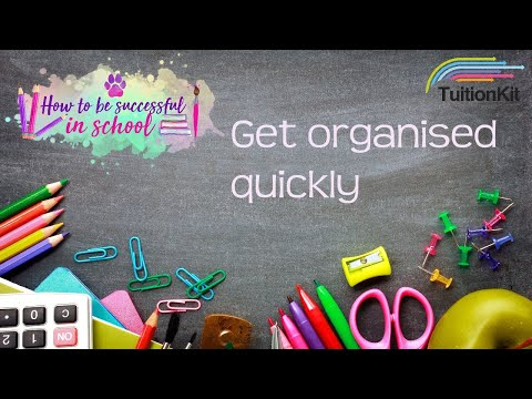 Super easy way to get organised for your exams!!