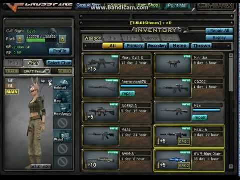 crossfire how to delete weapons