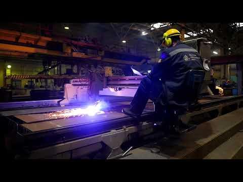 Промежуточный видеоотчет | Выборгский судостроительный завод
