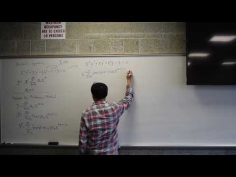 bessels equation of order 1