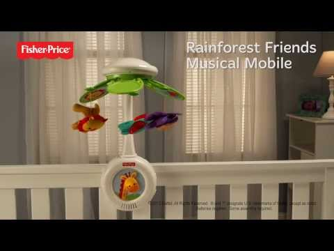 Fisher Price Rainforest Friends Musical Mobile | Y6600