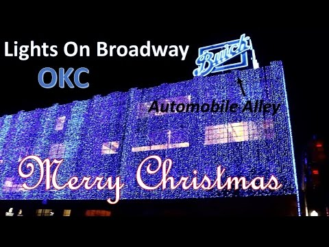 """Lights On Broadway"" At Automobile Alley"