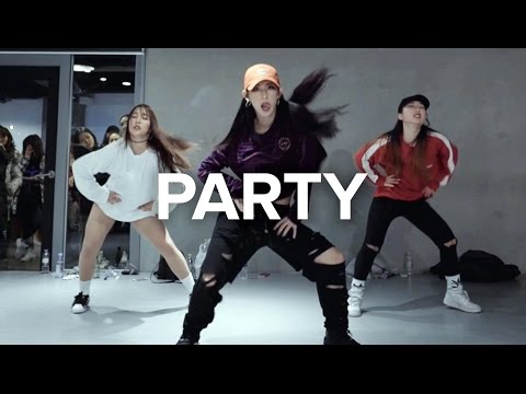 Party  Chris Brown ft Gucci Mane, Usher  Mina Myoung Choreography