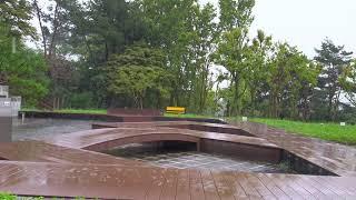 잠이잘오는 빗소리 공원 자연 ASMR