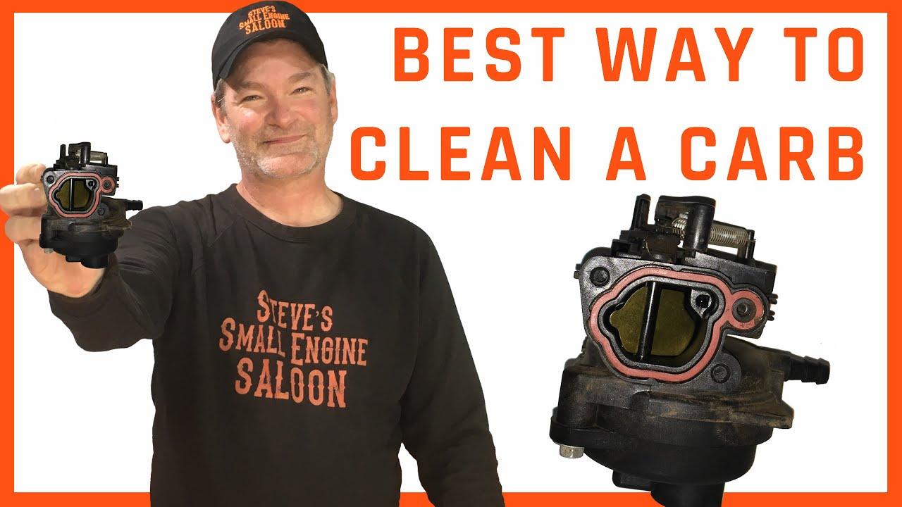 How Do I Clean a Plastic Briggs Carburetor