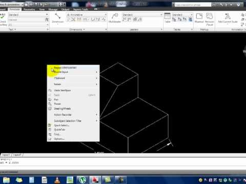 AutoCAD - Introduction to Isometric Drawings - Part 1.