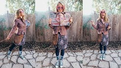 MY LUNA LOVEGOOD COSTUME || HARRY POTTER CHARACTER!