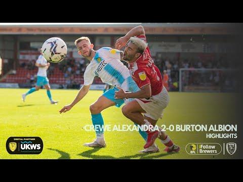 Crewe Burton Goals And Highlights