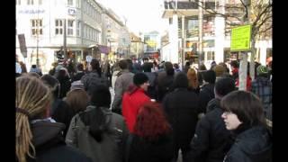Anit-ACTA-Demo Protestmarsch (in Heidenheim an der Brenz)