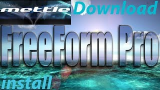 How to Download & Install Plugin Mettle FreeForm Pro & ShapeShifter
