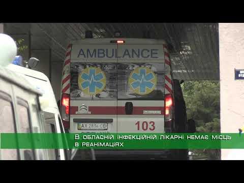 Телеканал Simon: На Харківщині в лікарнях для COVID-хворих закінчилися місця в реанімаціях