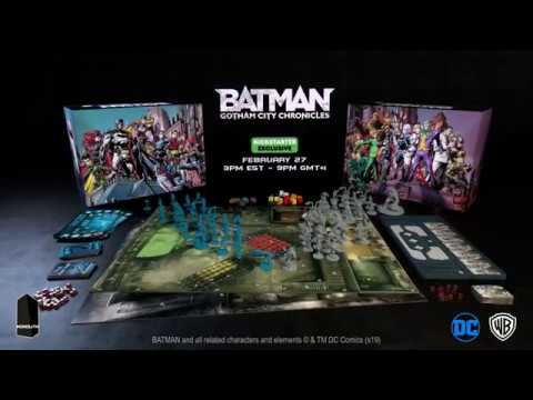 Batman: Gotham City Chronicles Kickstarter trailer