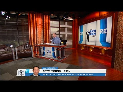Hall Of Famer Steve Young Talks Colin Kaepernick, Cowboys QB Situation & More - 10/14/16