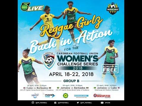 CFU Women's Challenge Series  - Cuba vs Barbados