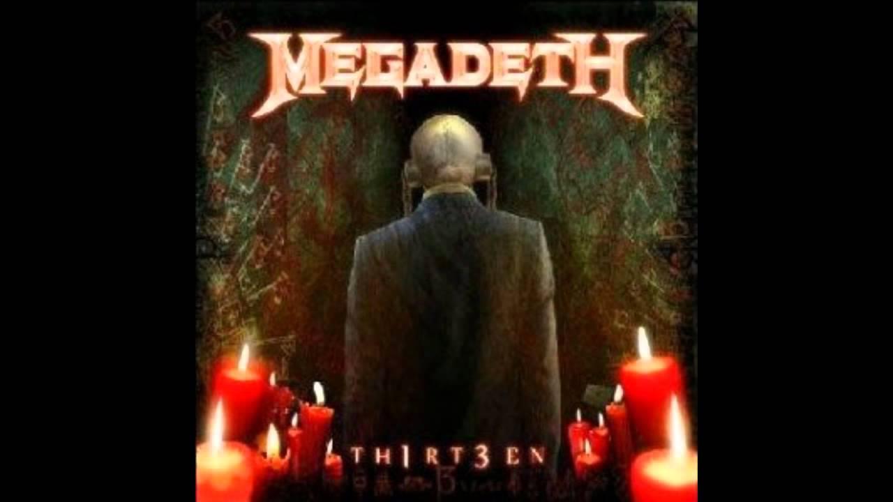 Megadeth - 13 Lyrics | MetroLyrics