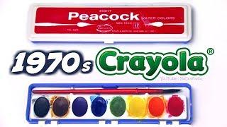 VINTAGE vs NEW - Crayola Watercolor Paint - crayOLDa - SoCraftastic