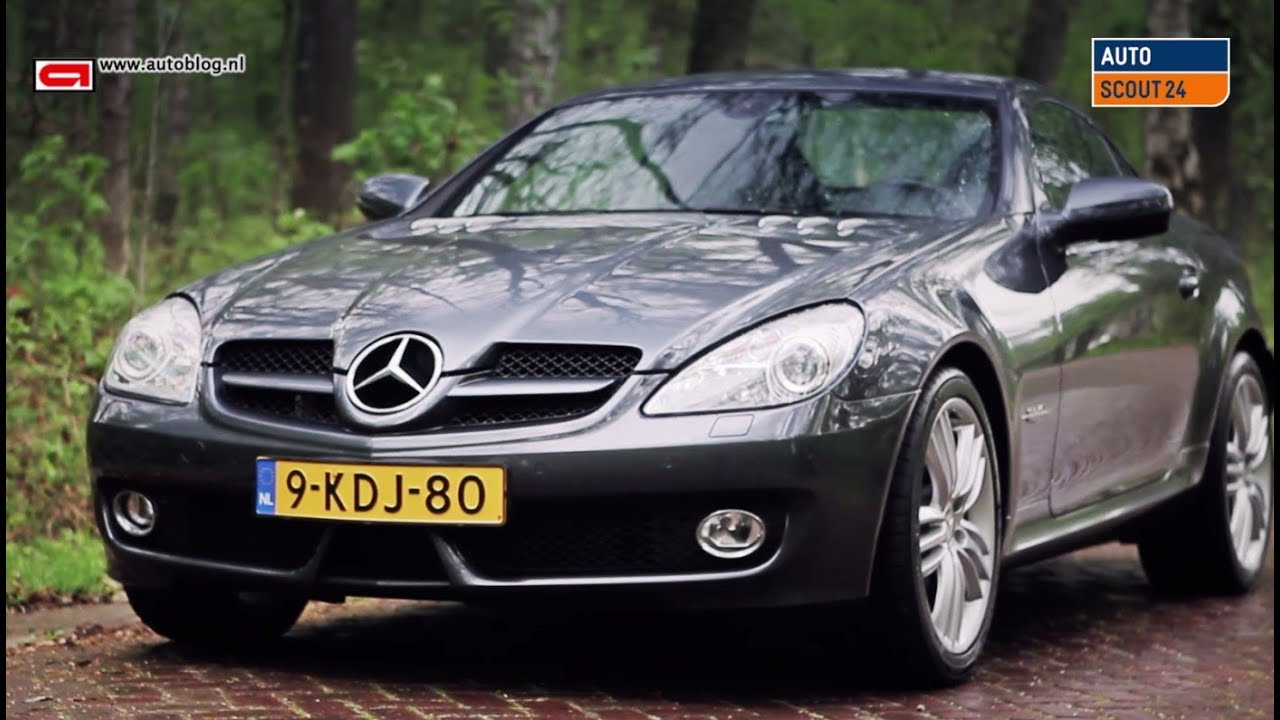 mercedes slk  review  youtube