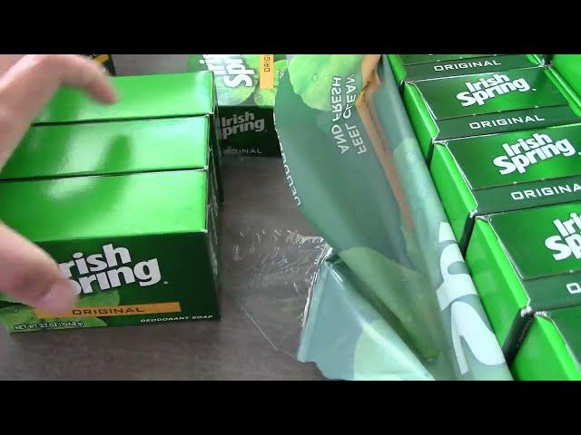Irish Spring Original Bar Soap 20 ct Unboxing & Review | Irish Spring Bar Soap | Irish Spring | Soap