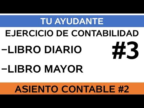 2) Se compra equipos a crédito / Ejercicio Libro Diario & Mayor #3