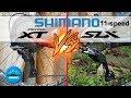 Shimano XT ⚡️ SLX - Duel transmission VTT 11 vitesses - [enDHuro battle]
