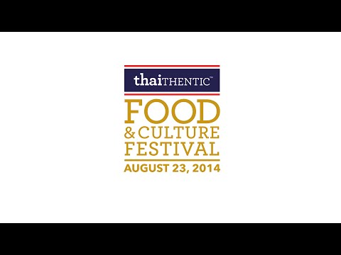 Pichet Ong - Thaithentic Food and Culture Festival - August 23, 2014 - New York City