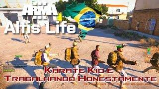 vuclip Arma 3 - Karatê Kid e Trabalhando Honestamente / Altis Life Brasil