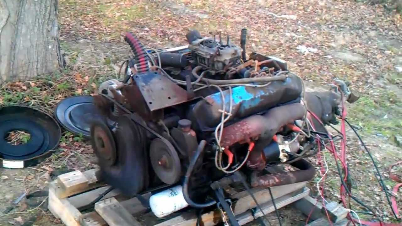 440 Dodge Engine Running