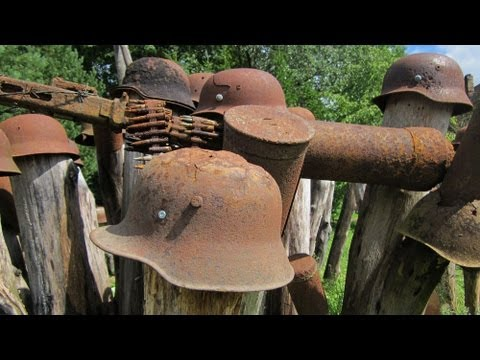 Thumbnail: WWII Relic Hunting 100-Helmets-Garden HD