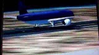 Flight Simulator 2002 landing